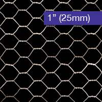Galvanised Chicken Wire Mesh 25mm