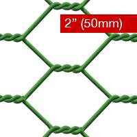 Chicken Wire PVC Coated 50mm
