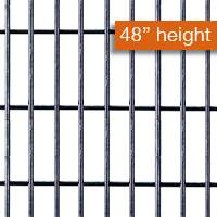 Galvanised Security Fencing 3x1x48