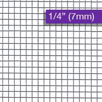 Wire Mesh Galvanised 7mm