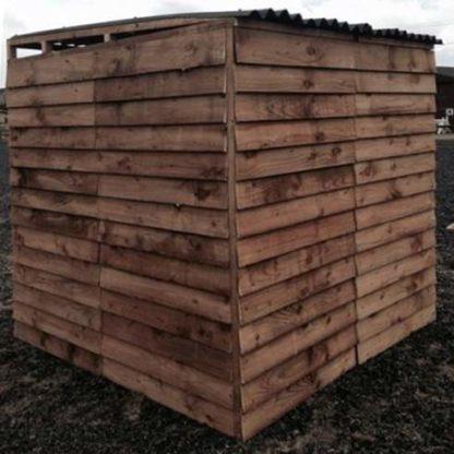 10 panel Aviary Enclosure (back)