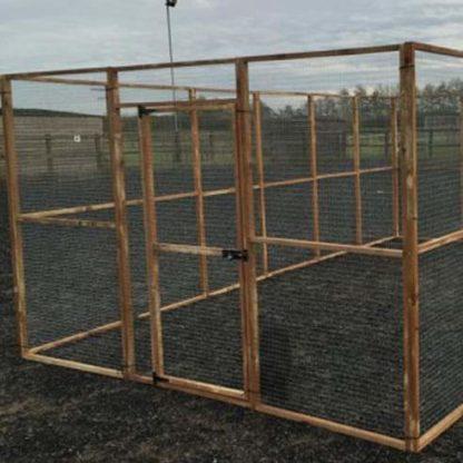 17 panel Aviary Enclosure